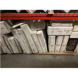 "SHELF LOT OF ""CHERRY"" AND ASSORTED KITCHEN CABINETS"