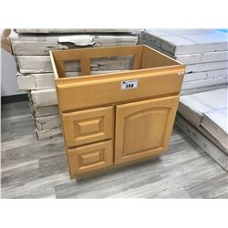 """MAPLE"" 36"" W X 21"" D X 32"" T VANITY WITH RIGHT HAND DRAWERS, MODEL: VA3621DR-32"