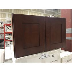 """CHERRY S"" 42"" W X 21"" D X 32"" T VANITY WITH RIGHT HAND DRAWERS, MODEL: VA4221DR-32"