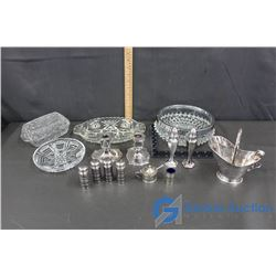 Crystal Dishes & Silverware