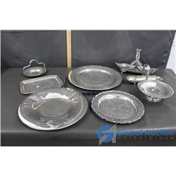 Collection of Silver Dishes