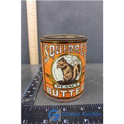 Vintage Squirrel Peanut Butter Tin