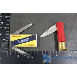 Sunlight Jackknife & Shotgun Shell Jackknife