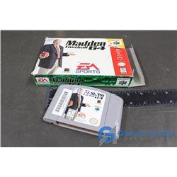 (2) Super Nintendo Games in Original Boxes