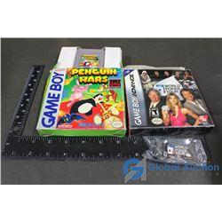 Gameboy Game in Original Box & Gameboy Advance Game in Original Box
