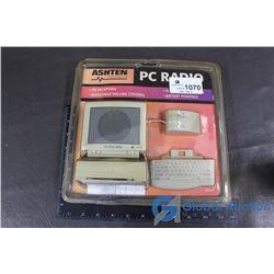 Vintage Ashten PC RADIO (Unopened in Original Package)