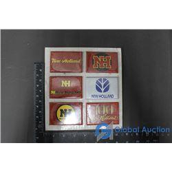 (6) New Holland Fridge Magnets