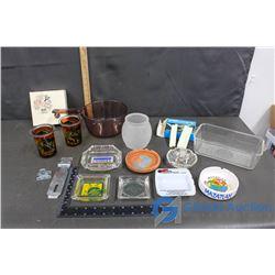 Kitchenware, Ashtrays & Misc Household