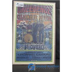 CCR Concert Poster