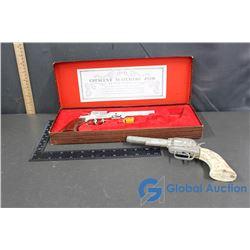 (2) Different Cap Gun Western Pistols