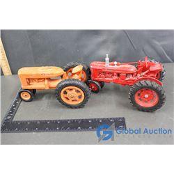 (2) Vintage Farm Tractors