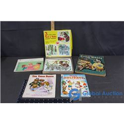 Vintage Kids Books and Puzzles