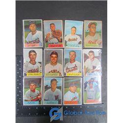 (12) 1954 Bowman Cards