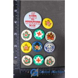Red Cross Pins
