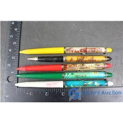(5) Float Pens