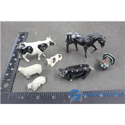 (7) Lead Toy Figurines