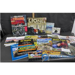 Train Related Book, Magazines, and CDs
