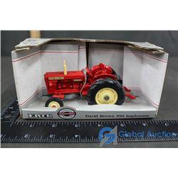 Die Cast Metal David Brown 990 Implematic Toy Tractor