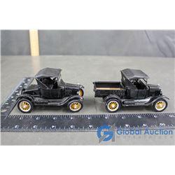 (2) 1925 Ford Model T Toy - Bid Price x2