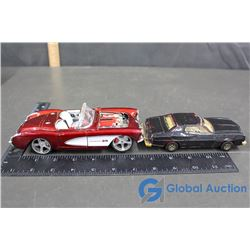 (2) Toy Cars