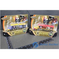 (2) Elvis Semi Trucks (Matchbox Collection) in Box - Bid Price x2