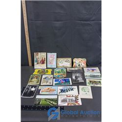 Vintage Post Cards and Needle Books
