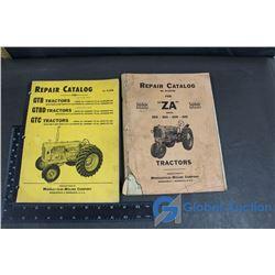 (2) Minneapolis-Moline Repair Catalogs