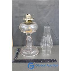 Glass Vintage Oil Lamp