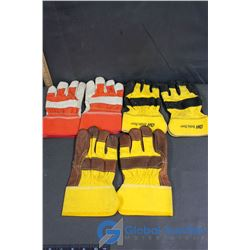 (3) Pairs of Work Gloves