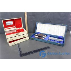 Musical Jewelry Box and Kitchen Utensil Set