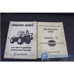 Farmall Guide and Cockshutt Manual Books