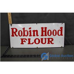 Robin Hood Flour Porcelain Metal Sign