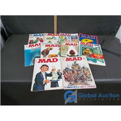 Collection of 1970s Mad Magazines