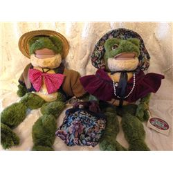 Flora & Floyd Frog Couple