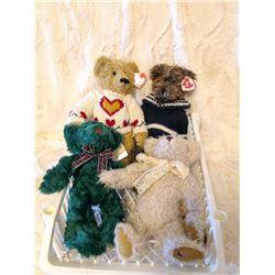 (4) Teddy Bears