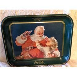 1983 Coca-Cola Christmas Tray