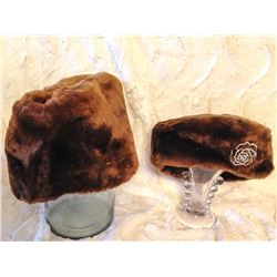 His & Hers Fur Hats TWO TIMES THE MONEY