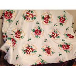 Christmas Perma Press Tablecloth