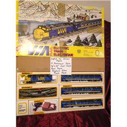 Via Rail Train Set by Bachmann