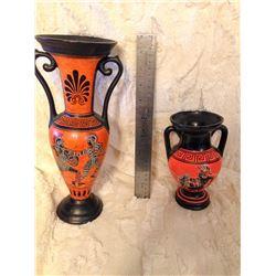 Pair of Greek Vases