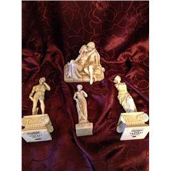 David, Venus, Romeo & Giuletta Ornaments