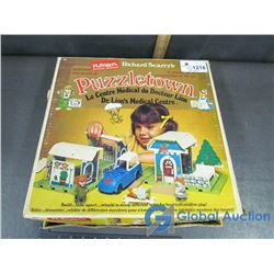 Vintage Playskool Richard Scarry's Puzzletown
