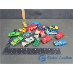 Majorette & Matchbox Toy Vehicles