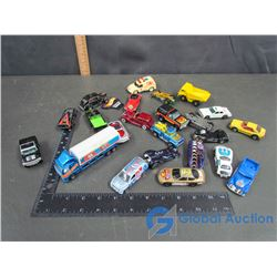 Assorted Hot Wheels Vehicles
