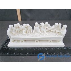 """The Last Supper"" Stone Carving - Made in Italy"