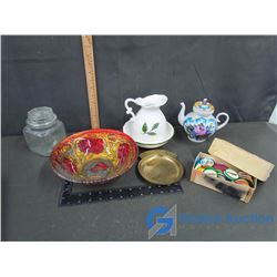 Assorted Glass & Ceramic Kitchenware