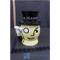 Ceramic Mr. Peanut Cookie Jar