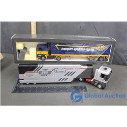 (2) Semi-Trucks