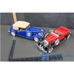 (2) Vintage Model Cars