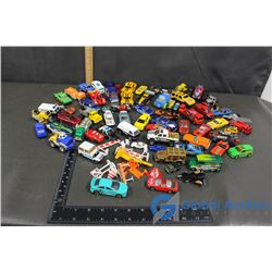 Variety of Toy Cars